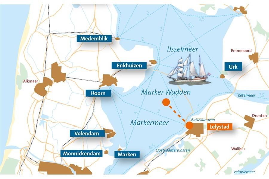 Detailbild von Marker Wadden Expedition (20-40 pers.)