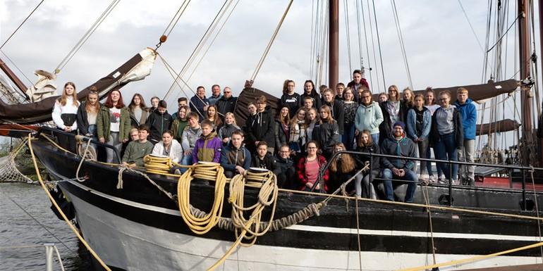 Blog warum eine Klassenfahrt auf einem Segelschiff?