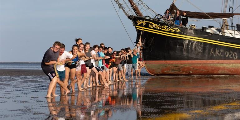 Blog Werkweek of schoolreis op een schip in Nederland