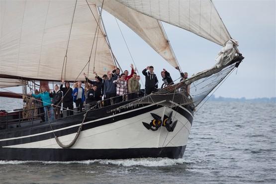 Segeln auf dem IJsselmeer mit Schulklassen