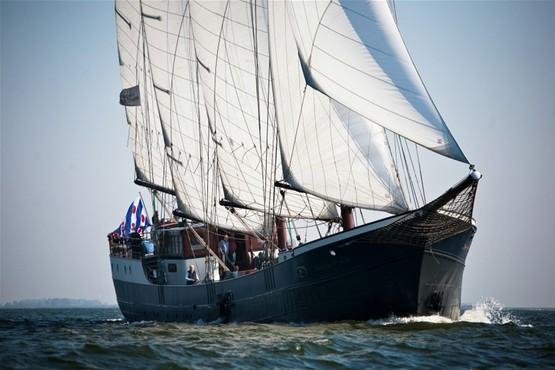 Zeilwedstrijden op het IJsselmeer