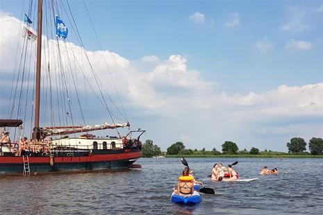 Week zeilen op de Friese meren