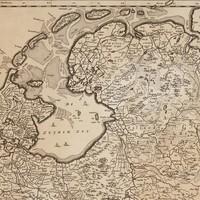 Onstaan IJsselmeer oude Zuiderzee