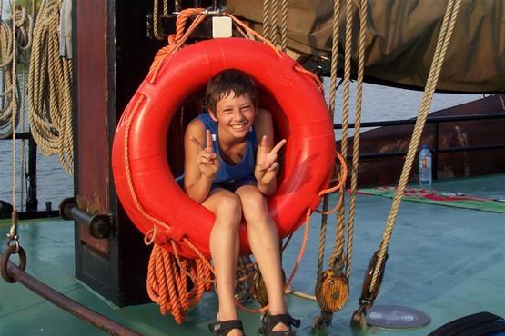 Kinderrabatt - Kinder erhalten 50% Rabatt für ein Wochenende auf dem Schiff