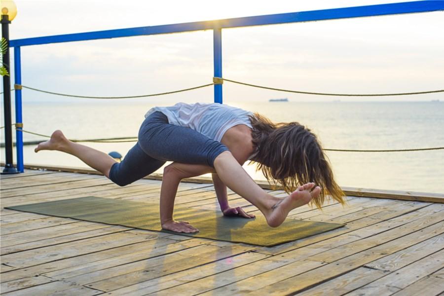 Detailbild von Yoga-Wochenende auf dem Wasser