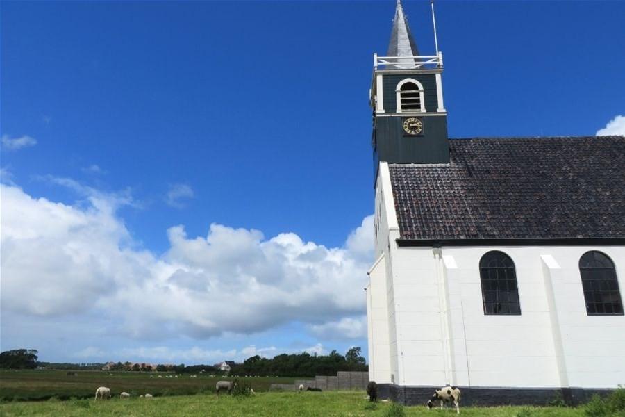Detailafbeelding van Wandeling over het eiland Texel