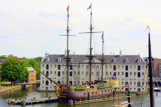 Shipping museum Amsterdam