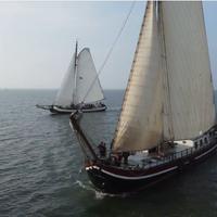Bedrijfsuitje Marker Wadden Actia zeilschip
