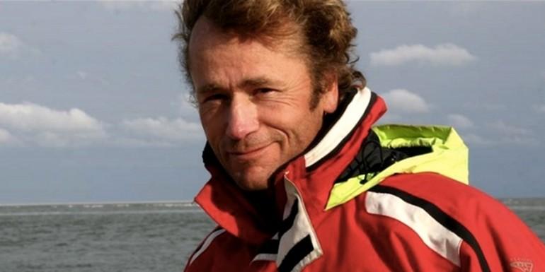 Henri van Dijk, schipper van de Pouwel Jonas