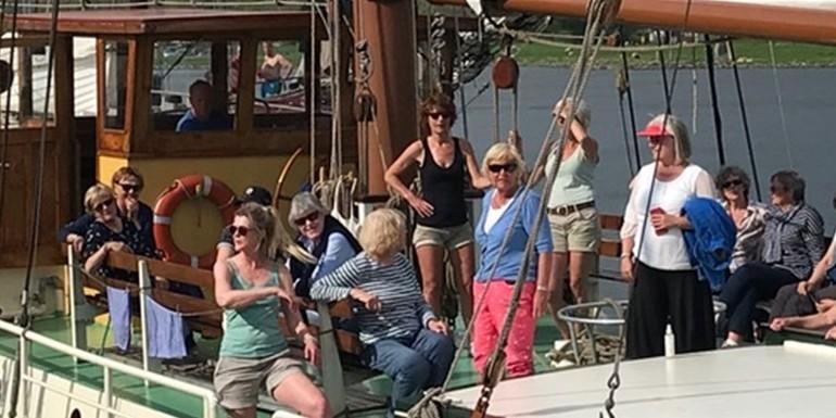 Blog - Damesgroep Isalania verkiest al 26 jaar een schip boven een hotelvoor weekendje weg