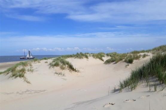 Wandeling over het eiland Vlieland