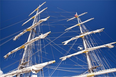 Tall ship Young Endeavour